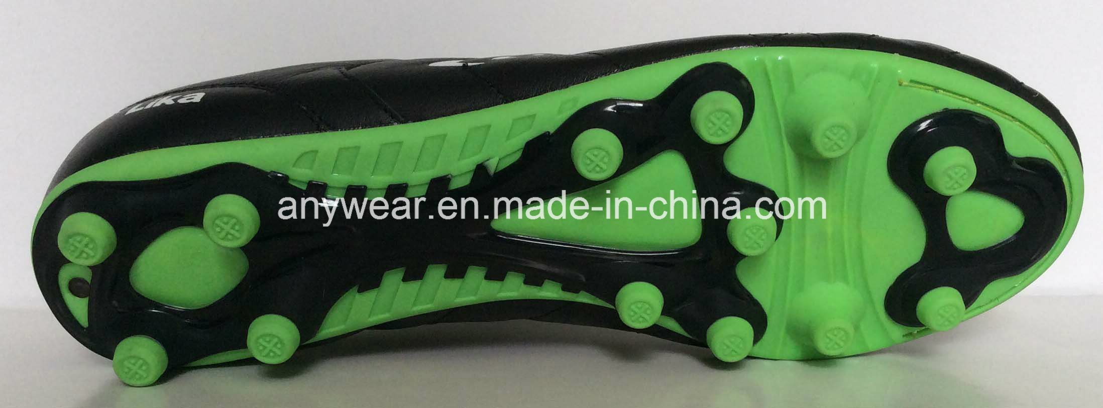 Kangaroo Leather Soccer Football Boots for Men′s Shoes (815-6513)