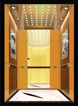 Passenger Elevator with Gearless Lift Traction