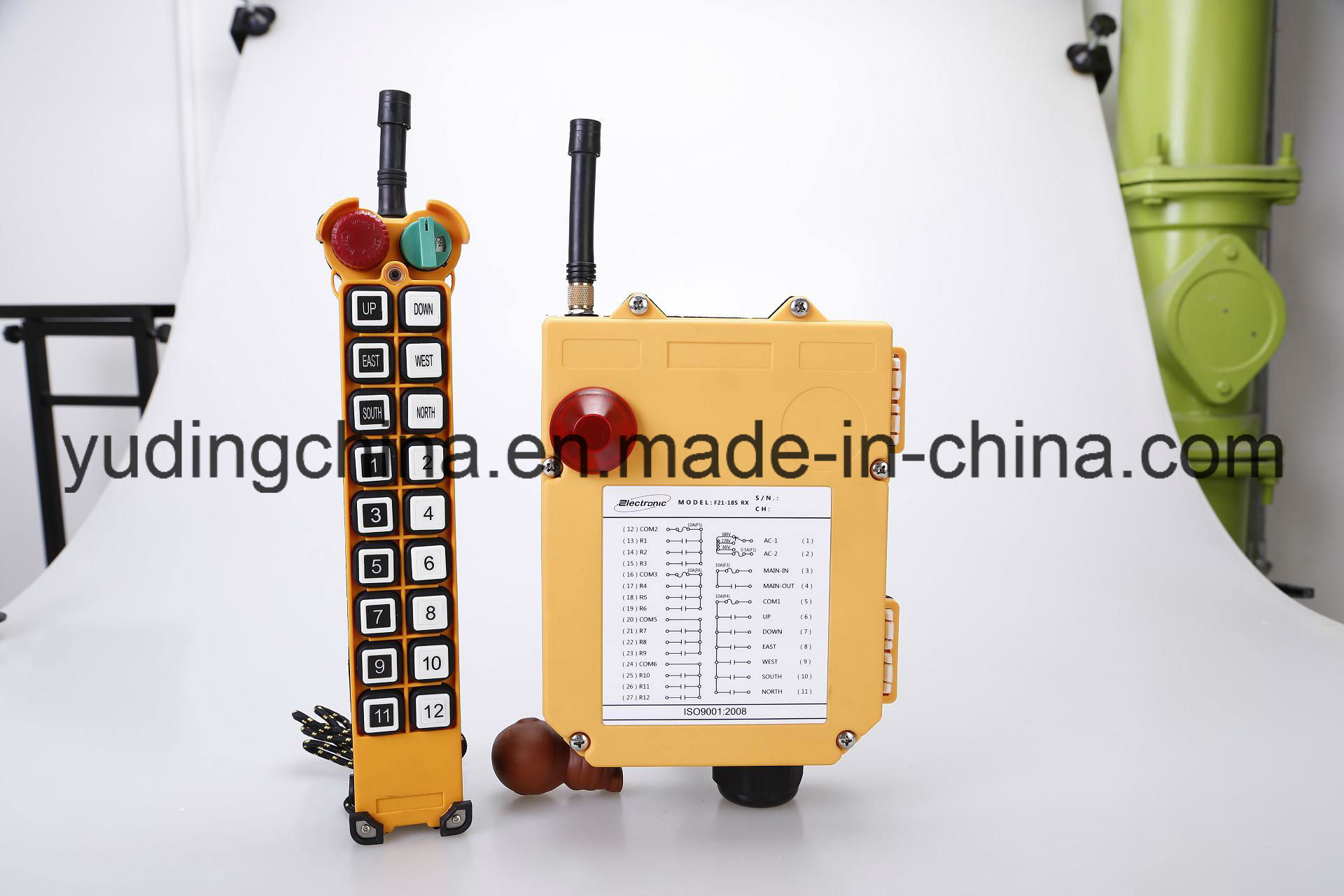 Single Speed Radio Remote Control for Alarm System