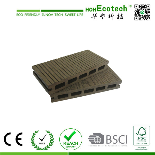 Wood Plastic Composite Outdoor Floor Decking (145H21-A)