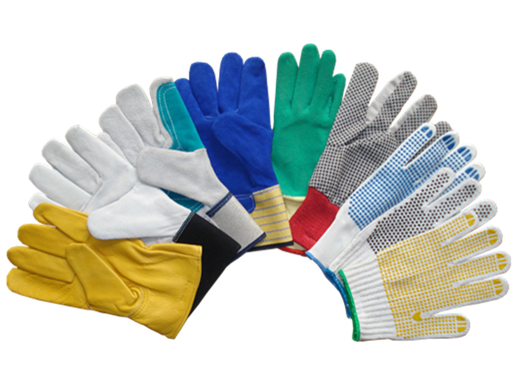 Leather work gloves for welding - Gloves Safety Gloves Working Gloves Pvc Dotted Gloves Cotton Gloves Nylon Nitrile Gloves Pvc Gloves Leather Gloves Welding Gloves