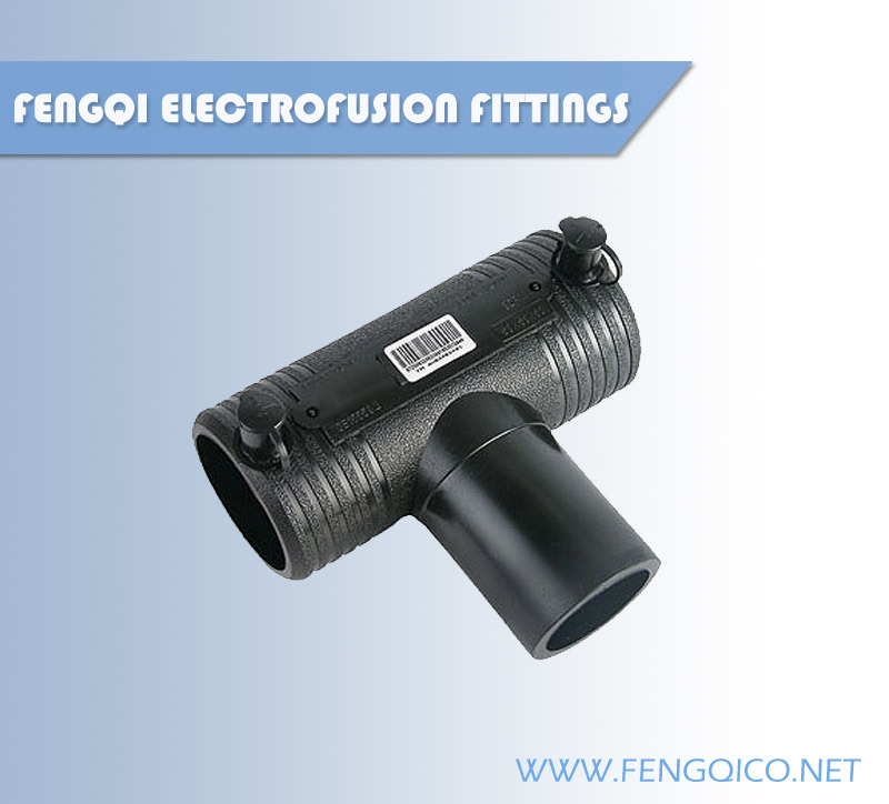 PE Gas Pipe Electrofusion Fitting