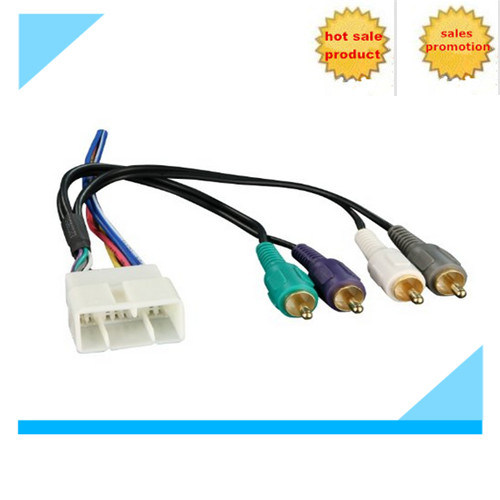 Custom Automotive Audio Wiring Harness for Toyota Manufacturer