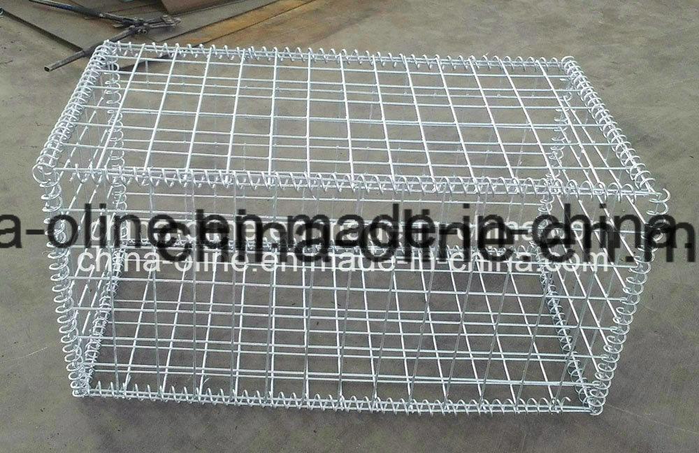 Galvanized Welded Wire Mesh Gabion Box for Stone Building