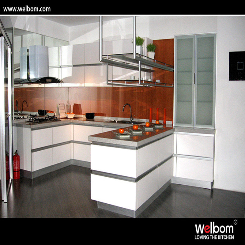 China 2016 Welbom New Design Wall Mounted Modern PVC Kitchen Cabinets    China Kitcehn Cabinrtry, Kitchen Cupboard