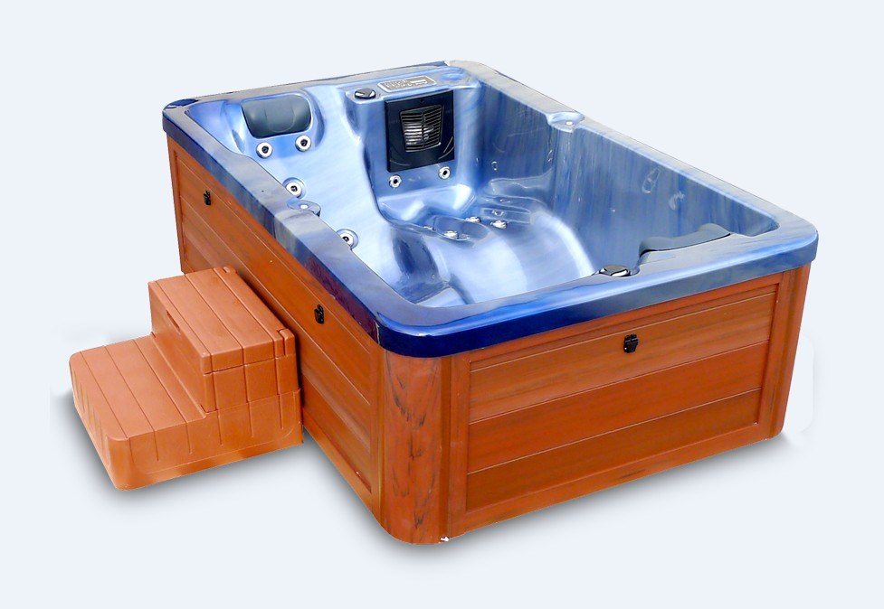 China luxus 2 person jacuzzi spa wellness outdoor indoor for Jacuzzi exterior 2 personas