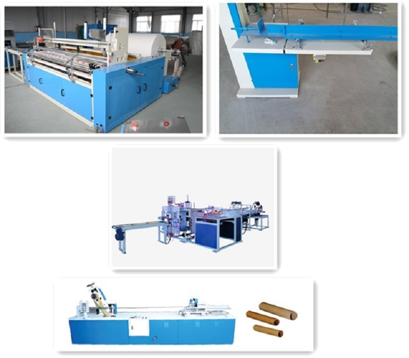 Toilet Paper Machine for Toilet Paper Roll Production Line