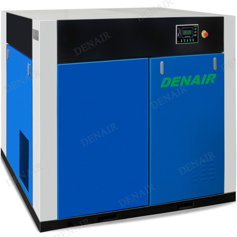Stationary Non-lubricated Oilless Oil-free Oil Less Rotary Screw Air Compressor