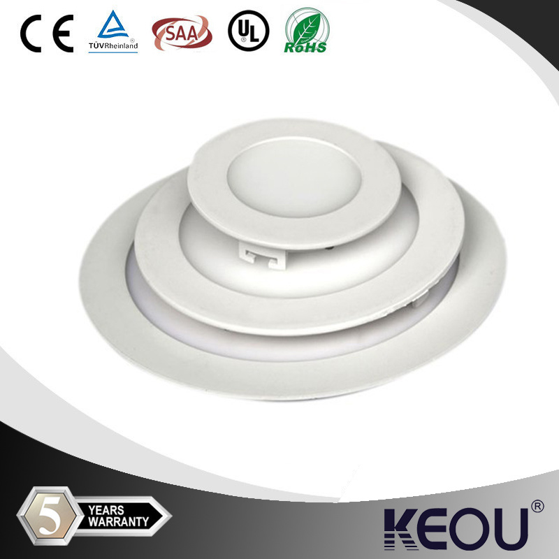TUV UL Approved 10inch White Circular LED Panel Lamp