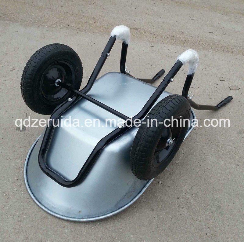 Galvanized Surface Treatment Wheel Barrow for Germany Market (WB6406)