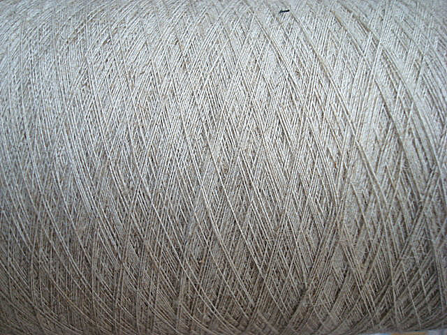 Linen Yarn Solid and Blenched