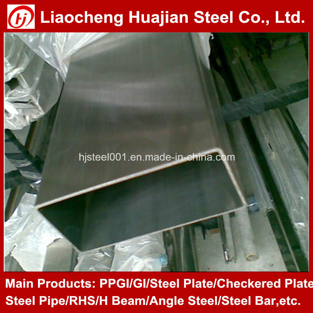 16 Inch Tube Chinese Galvanized Steel Rectangular Tube Products for Buildings