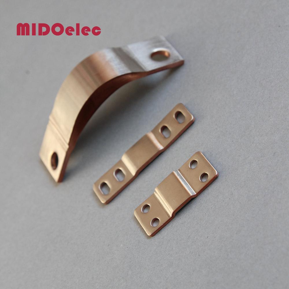 Flexible Copper Busbar Electric Connector