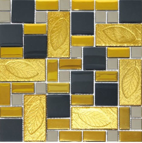 Ceramic Wall Tiles Glass Mosaics (BYD3066)