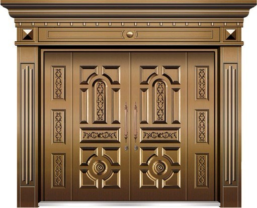 5 inspiring front door designs hinting towards a happy for Main entrance doors design for home