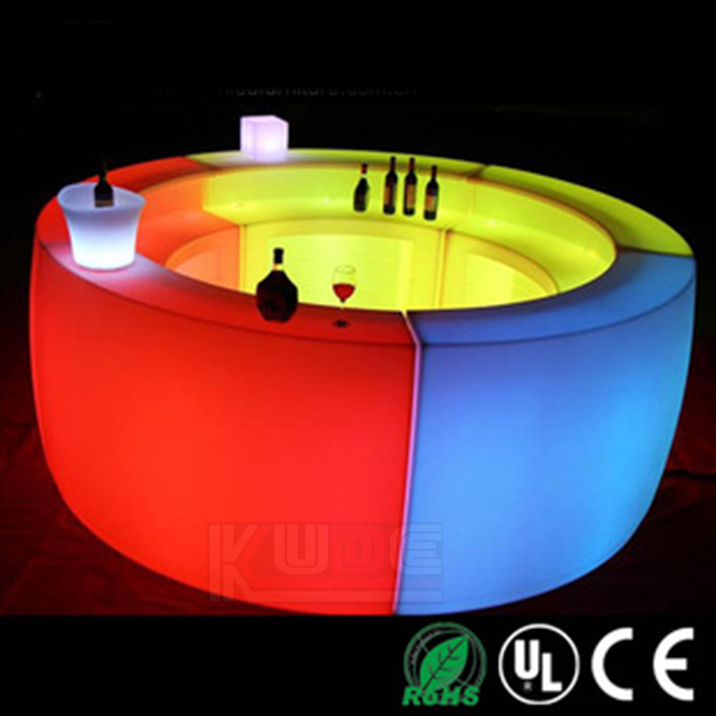 Good LED Furniture Supplier LED Bar Counter Modern Style Bar