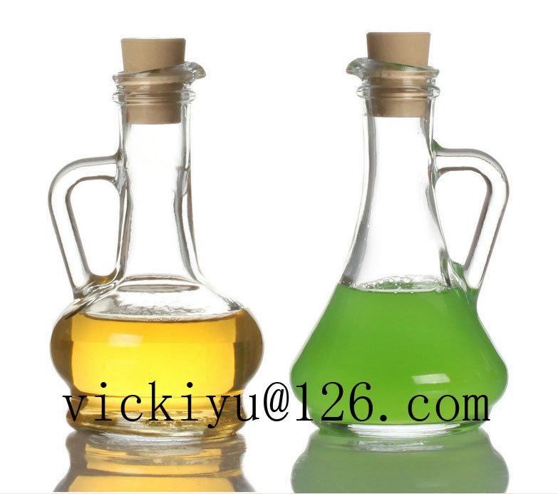 150ml Glass Vinegar Bottle Glass Oil Bottle Irregular Oil Bottle
