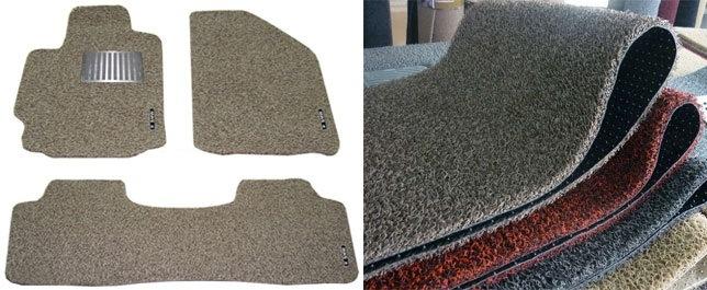 PVC Coil Car Carpet Mats