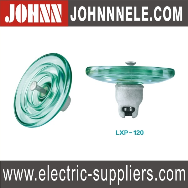 Toughened Glass Suspension Insulator-Lxp-120