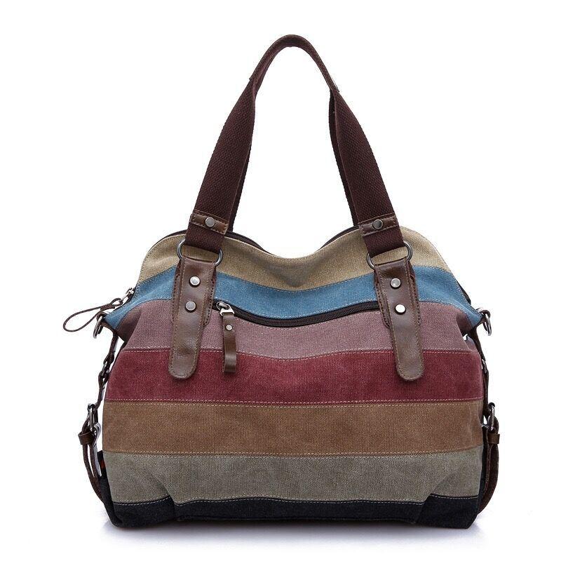 Fashion Canvas Bags, Big Volumn Women Bag, Sling Bag, Shoulder Bag,