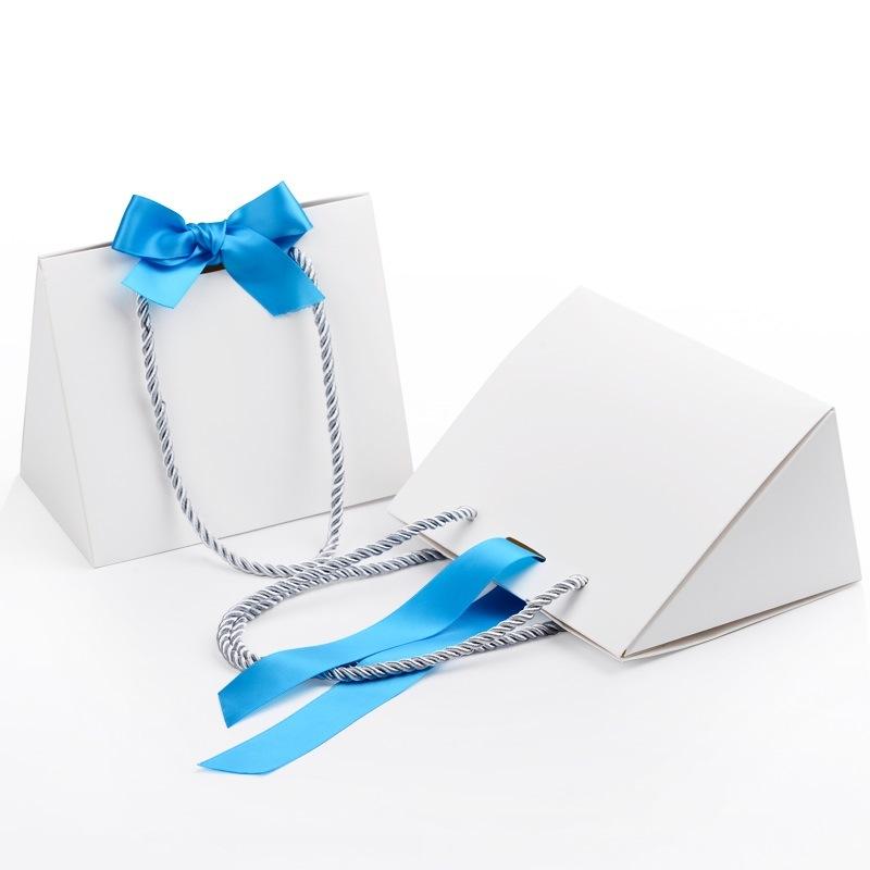 Resuable Paper Shopping Gift Bags for Garments (FLP-8946)