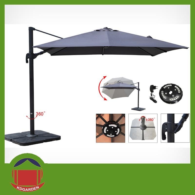Side Post Outdoor Garden Umbrella