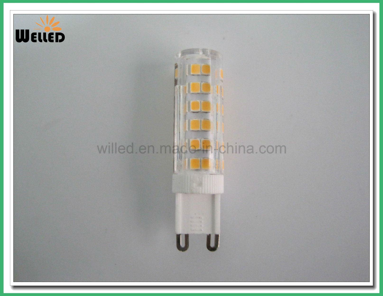 G9 LED Bulb Light AC110V 220V 5W Dimmable LED G9 Lamp 75PCS SMD2835 Ceramic Base