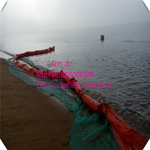 Inflate PVC Oil Boom, Solid Foam Oil Boom, Oil Seaweed Fence