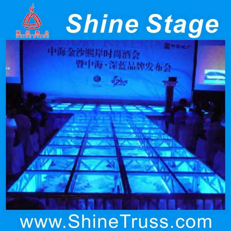 Stage, Hotel Stage, Pleasure Ground Stage, Acrylic Aluminum Stage