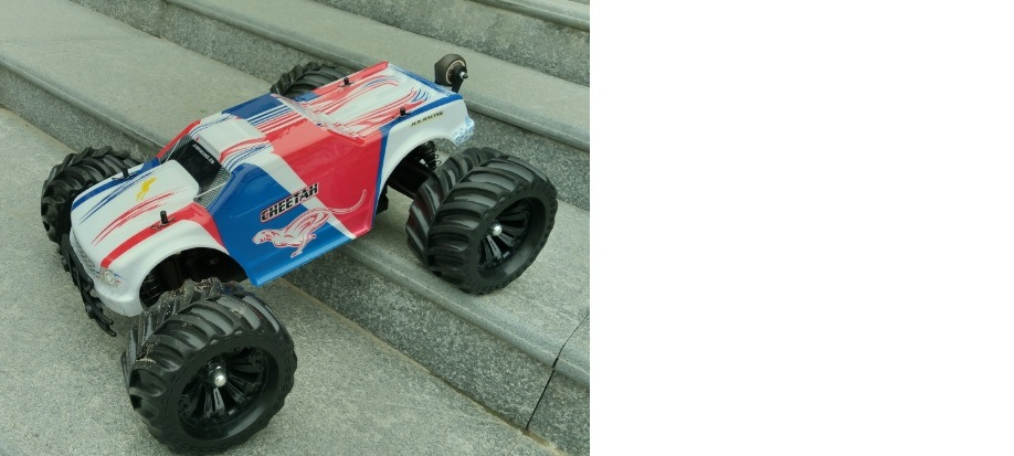Wholesale Electric Powerful Motor RC Speed Racing Car / RC Car Tires, RC Monster Truck