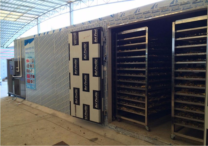 Hot Air Dryer High Capacity Ginger Drying Machine