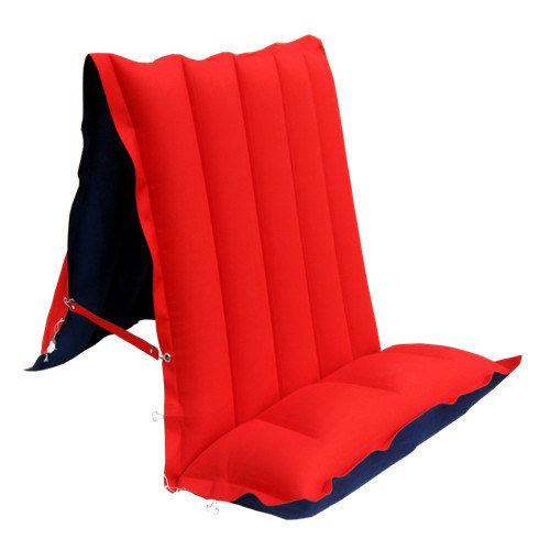 Chair Style Back Rest Rubber Cotton Air Bed