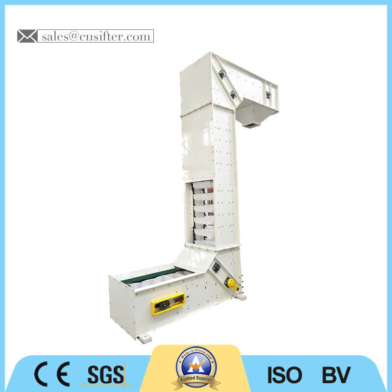Vertical Conveyor Machine Bucket Elevator