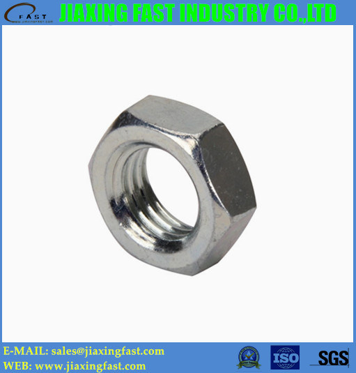 Hex Jam Nuts Hexagon Jam Nuts Hexagonal Jam Nuts DIN439 DIN936/ Fin Hex Nut