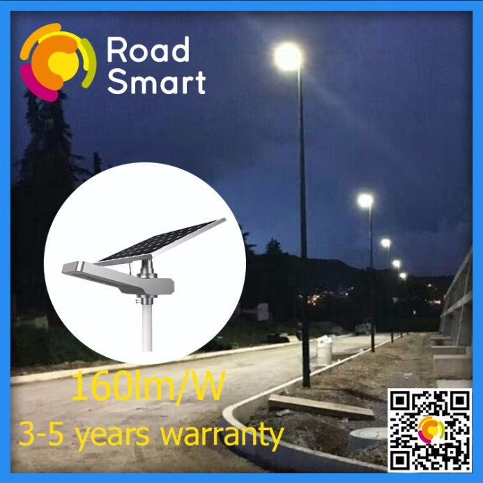 15W-50W Intelligent LED Solar Street Light with Lithium Battery