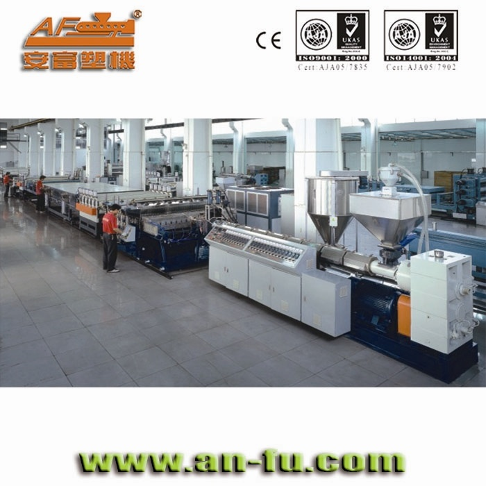 PC\PP\PE Hollow Shutter Extrusion Machine