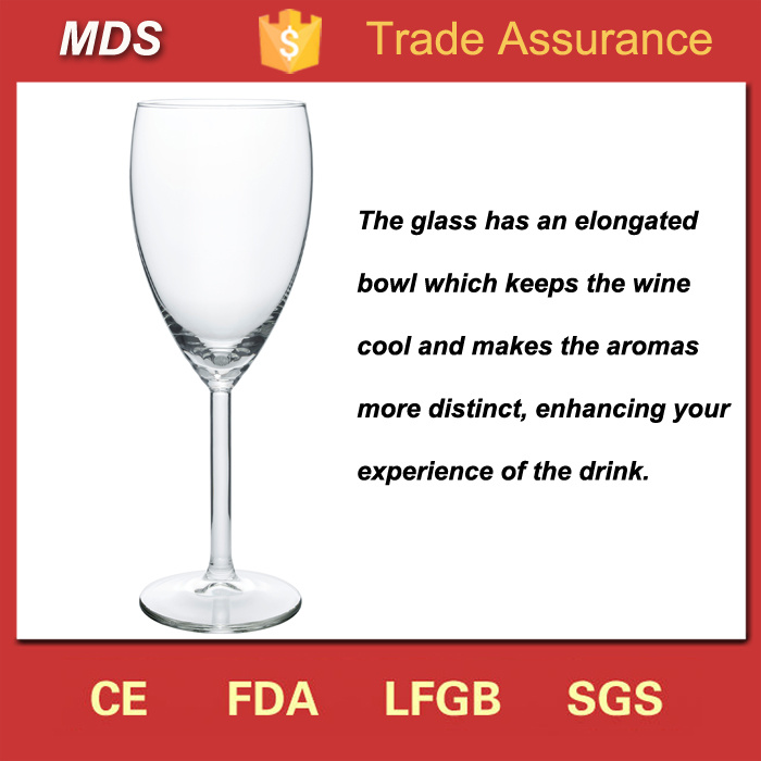 Glassware Short Stem Custom Tulip White Wine Glass