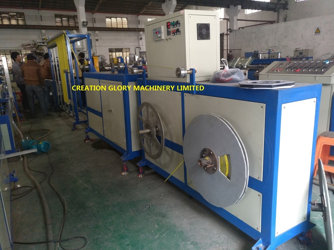 Leading Technology Steel Measure Tape Nylon Coating Extruder Machine