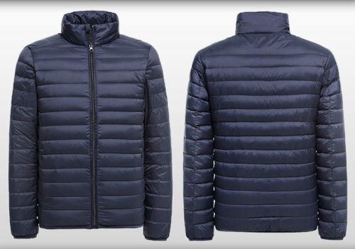 Ultra Light Packable Men′s Down Puffer Jacket