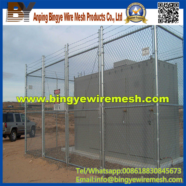 Galvanized Temporary Construction Chain Link Fence