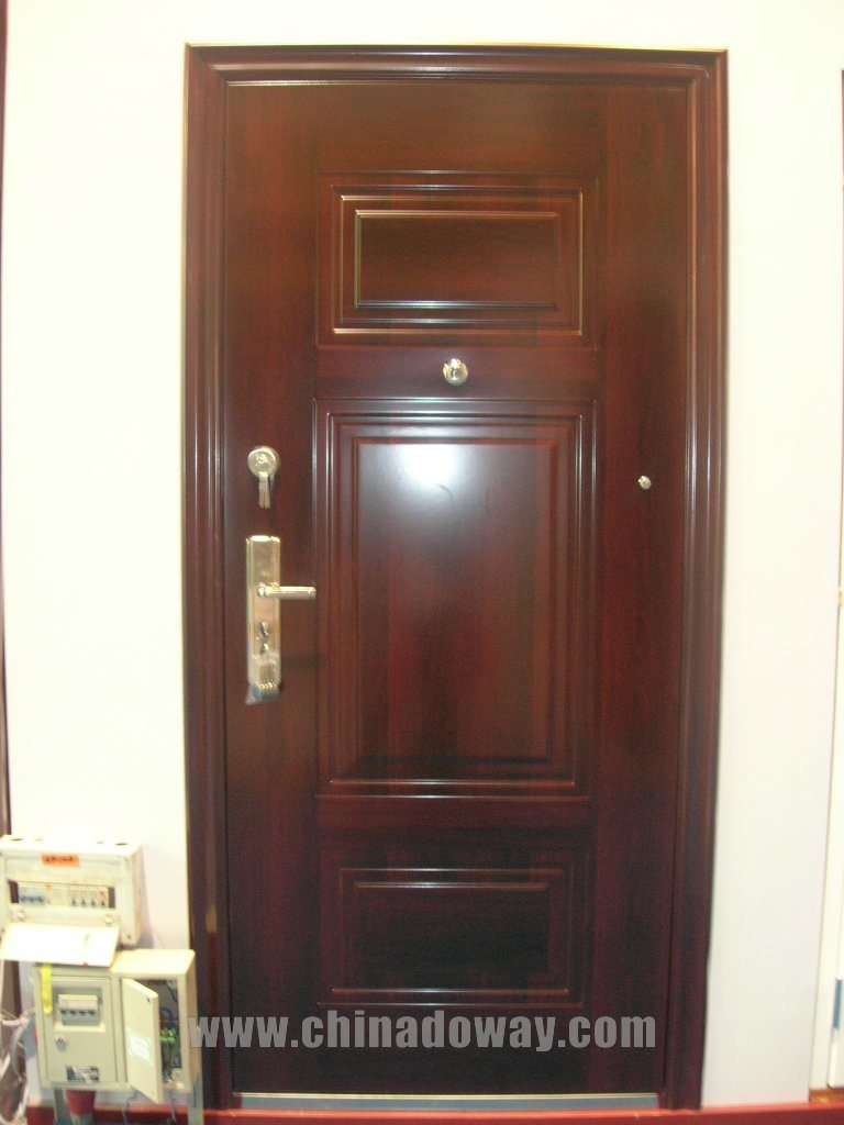 Steel Security Doors - Leather Finish Steel Security Doors, Glossy