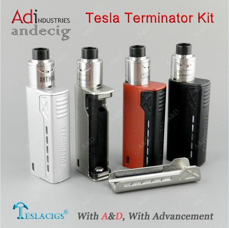 2017 Newest Tesla Terminator 90W Kit Vape Box Mod, Tesla Electronic Cigarette