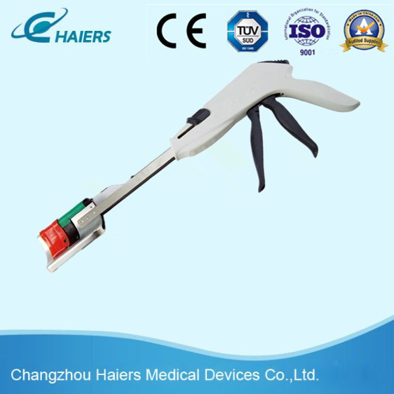 Disposable Curved Cutter Stapler with Ce/ISO Approved
