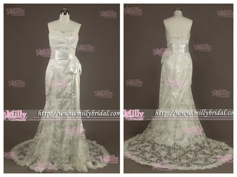 Lace Wedding Dress Bridal GownProm Dress WG1265