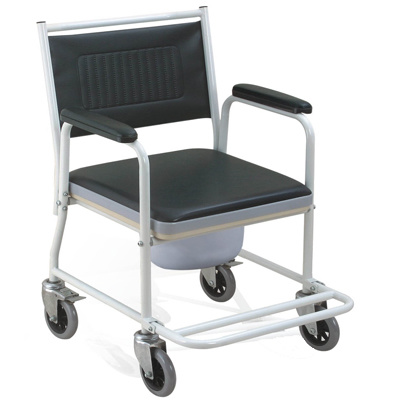 china steel commode chair with wheels oh cc009 china