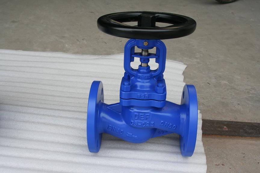 Bellow Globe Valve Cast Steel 304 316