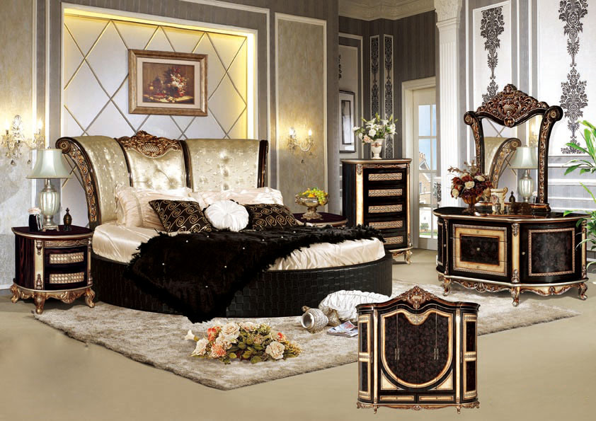 china antique bedroom furniture with king size bed yf