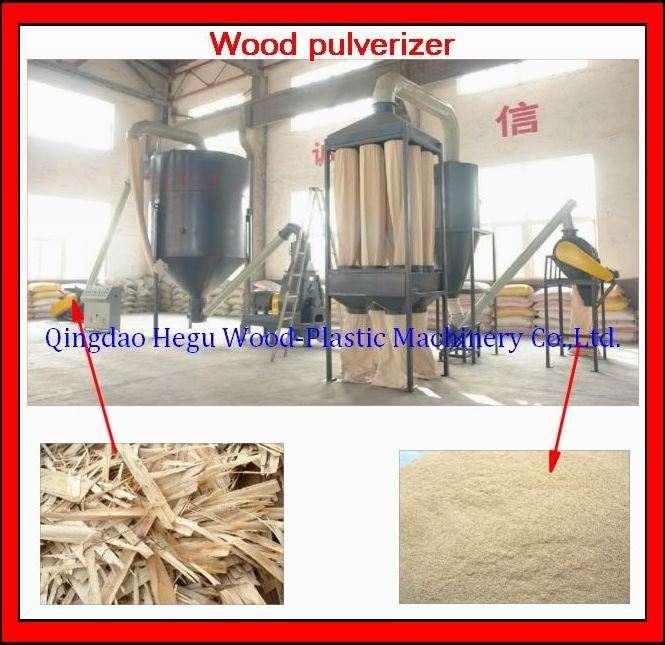 wood pulverizer machine