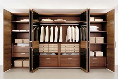 Folding Door Wardrobe (FLX-22) - China Wardrobe,Bedroom Wardrobe