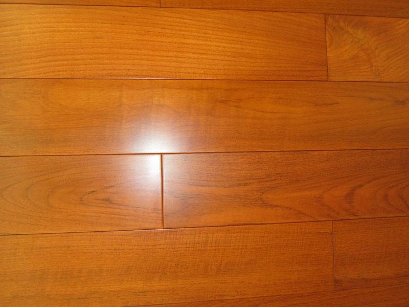 China solid teak flooring m s t